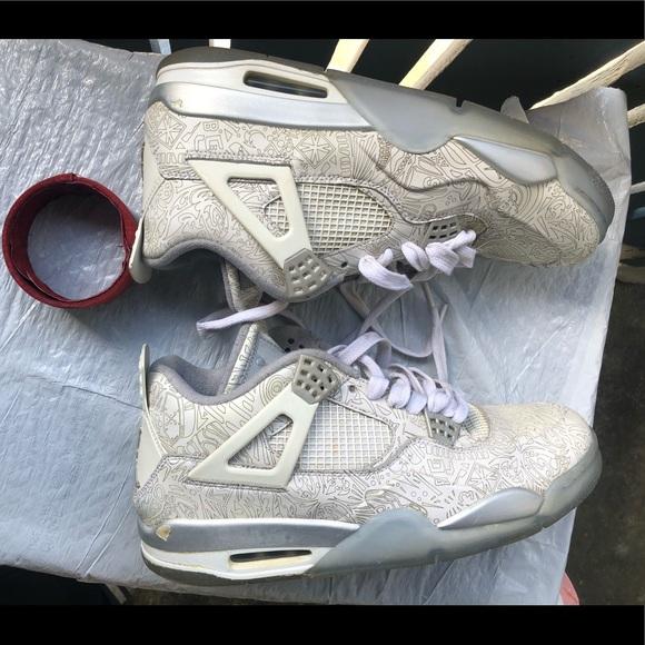 buy popular cff09 c6353 Nike Jordan Retro 4 IV 705333-105 White Sz 11.5